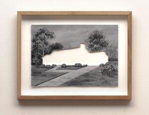 Amber Koroluk-Stephenson, The Bayou, 2014, oil on paper, 29.72 x 41.91cm.