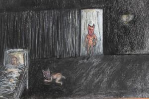 Michelle Dixon, Animation snapshot, 2012, mixed media.