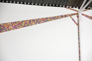 Jessie Lumb, Joy follows like a shadow (install view), 2011, paper, glue.  Photography: Hugh Langlands Belle